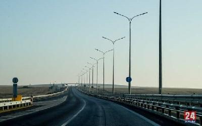 С 18 мая ограничения въезда через Крымский мост остаются